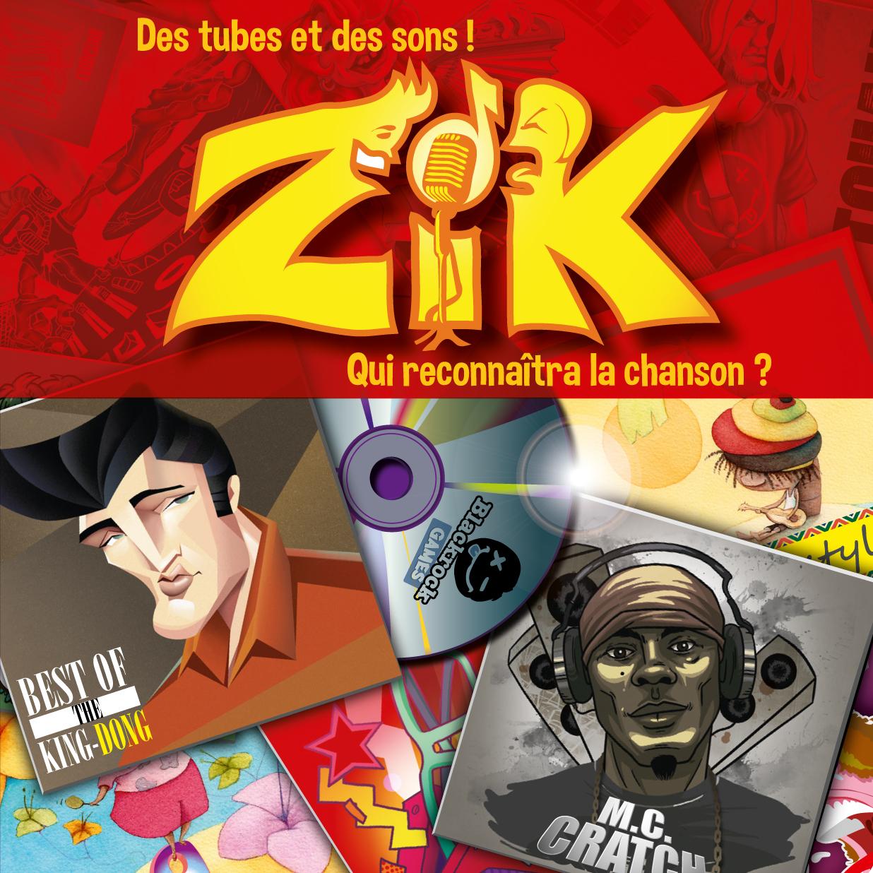 Boite Jeu Zik par Flip-Flap Editions