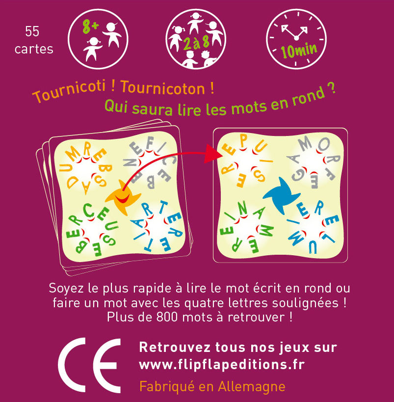 Jeu carte Zebulon - face arriere
