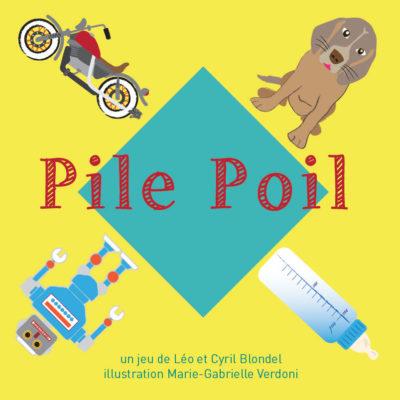 Jeu Pile Poil - Jeu de cartes Pile Poil Flip Flap Editions - face avant