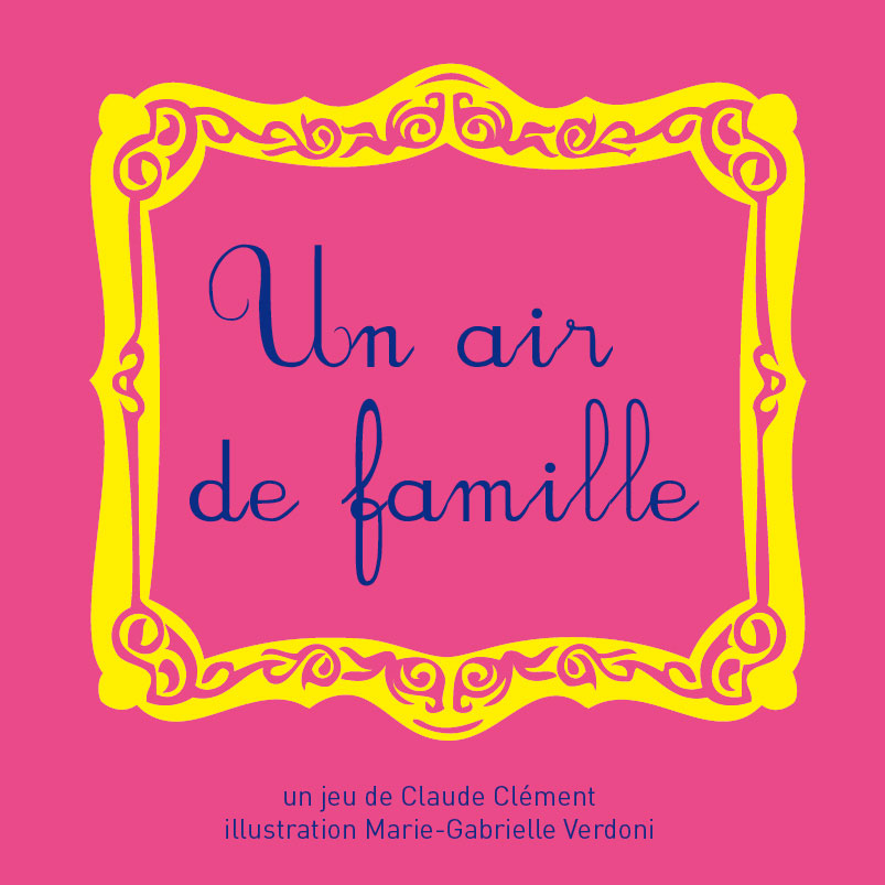 Jeu un air de famille - Flip Flap Editions
