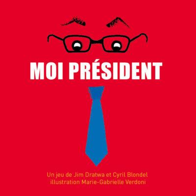 Jeu Moi Président - Flip Flap Editions