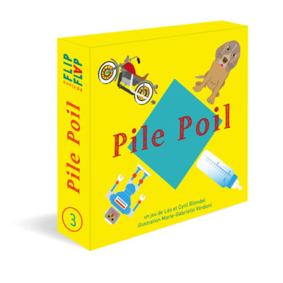 Jeu de cartes Pile Poil par Flip Flap Editions