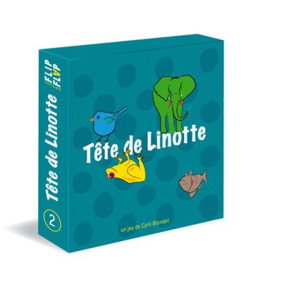 Jeu Tête de linotte Flip Flap Editions