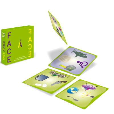 Jeu de cartes Face à Face par Flip-Flap Editions