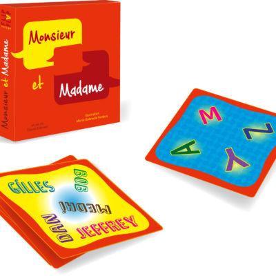 Jeu Monsieur et Madame par Flip Flap Editions