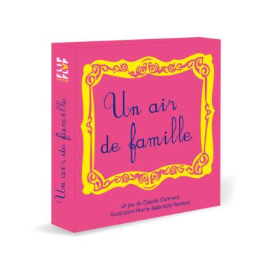 Jeu de cartes Un Air de Famille - par Flip-Flap Editions