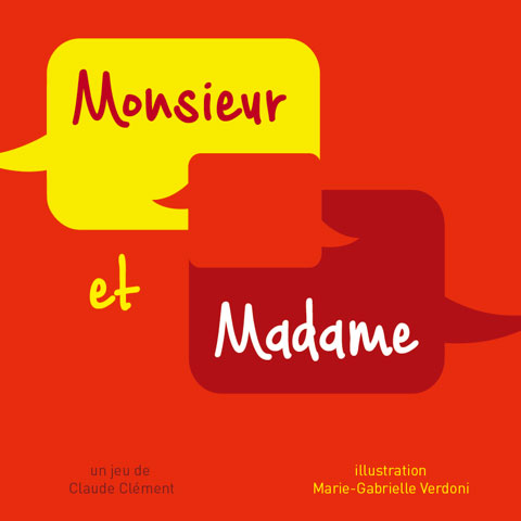 Jeu Monsieur & Madame - face avant