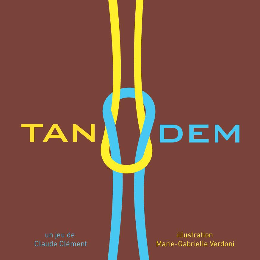 Jeu Tandem - Flip Flap Editions