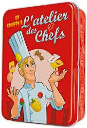 Jeu L'Atelier des Chefs par Flip Flap Editions