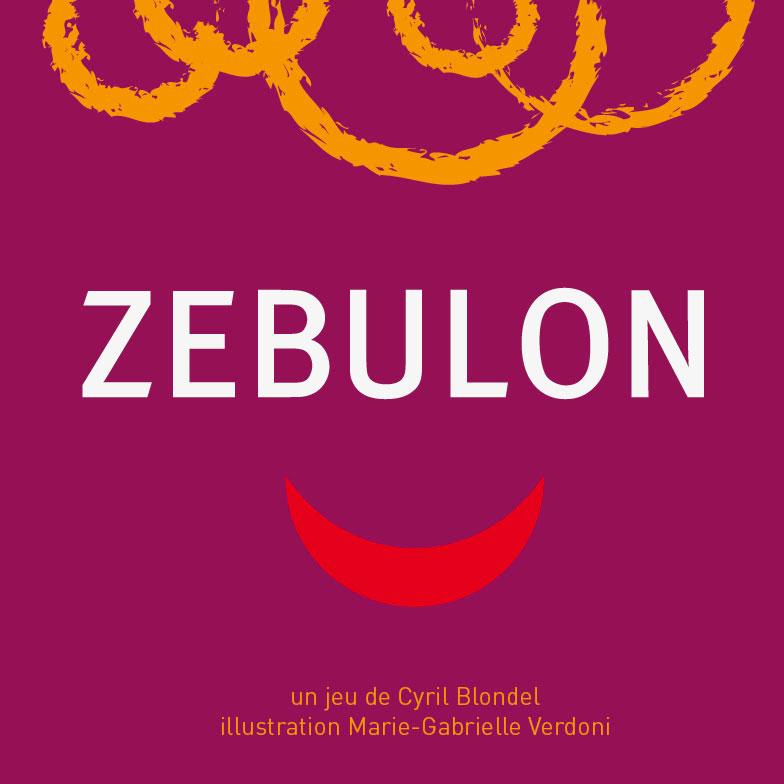 Jeu Zebulon - face avant par Flip-Flap Editions