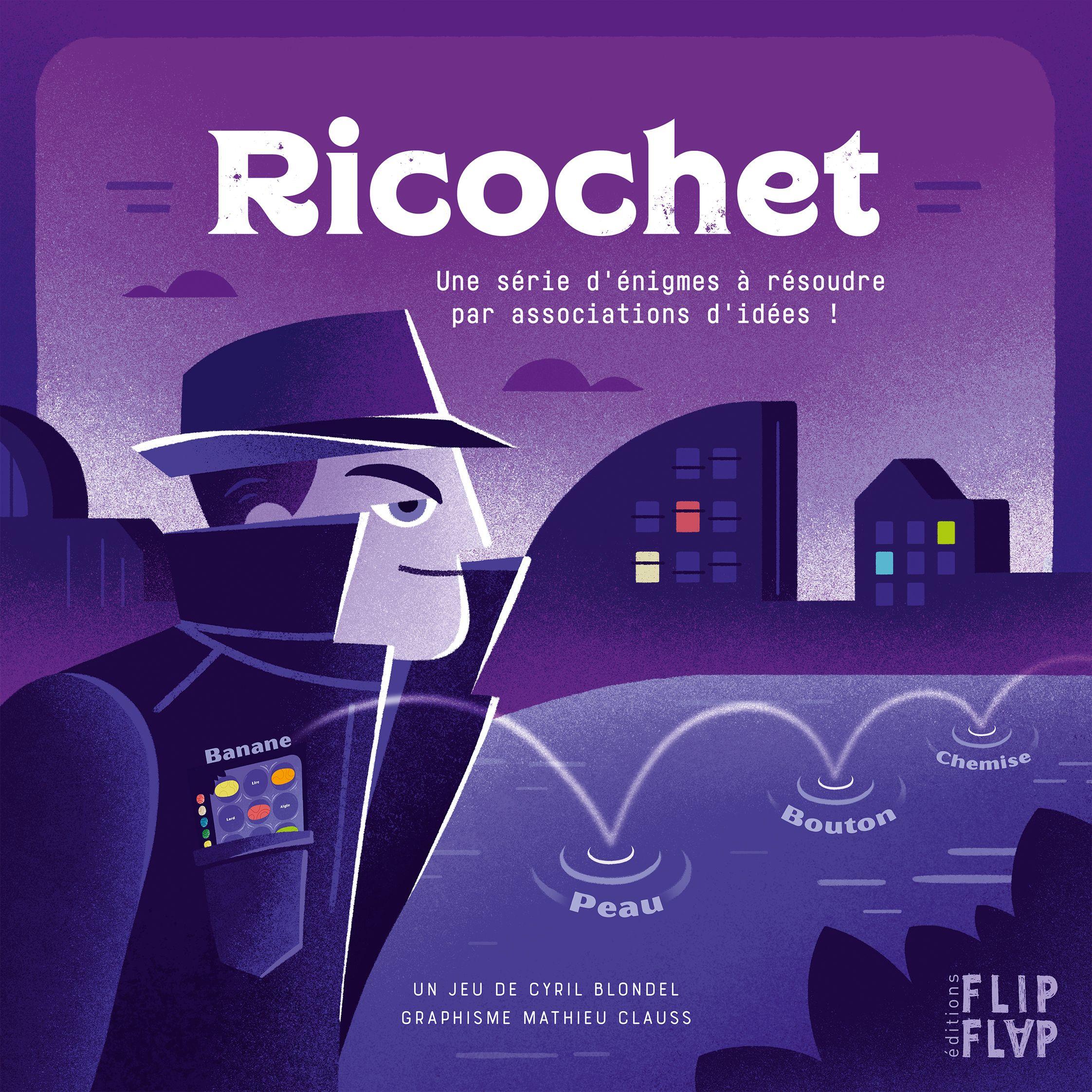Jeu Ricochet par Flip Flap Editions